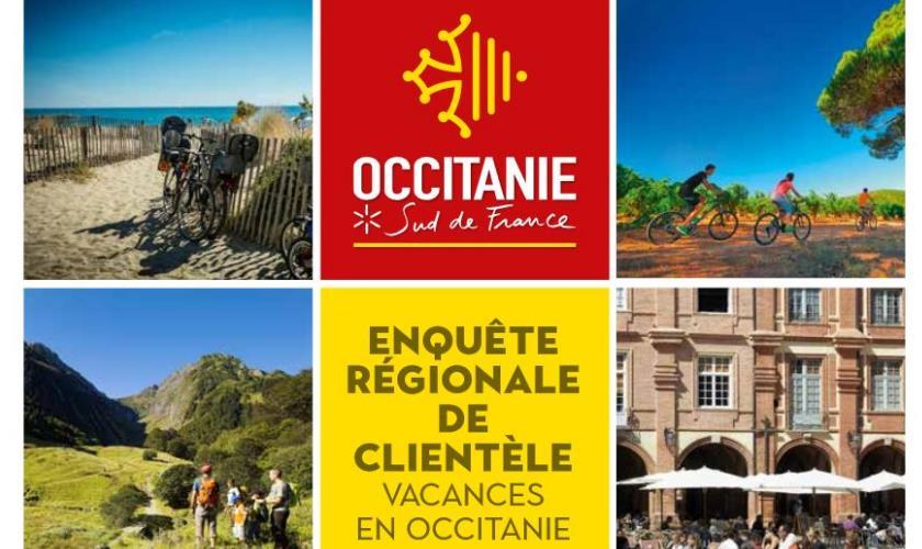 Enquête sur la fréquentation touristique en Occitanie