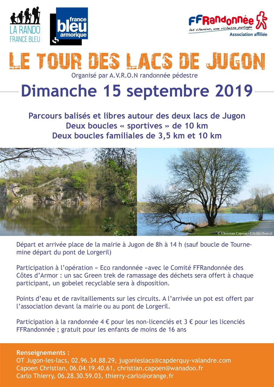 Flyer rando France Bleu - Côtes-d'Armor 2019