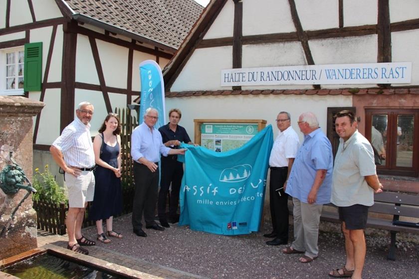 Le GR® 5 fait sa promotion dans la Traversée du Massif des Vosges