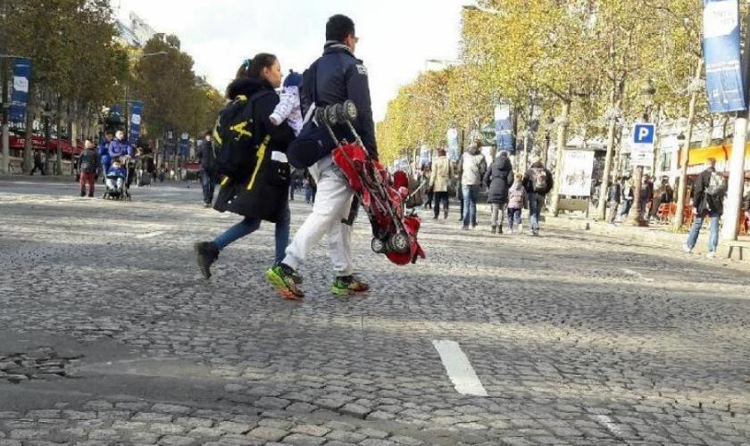 La randonnée en mode ville