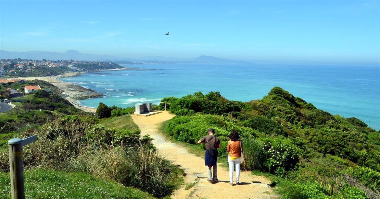 Pyr n es atlantiques le sentier c tier du pays basque - Office du tourisme pyrenees atlantiques ...