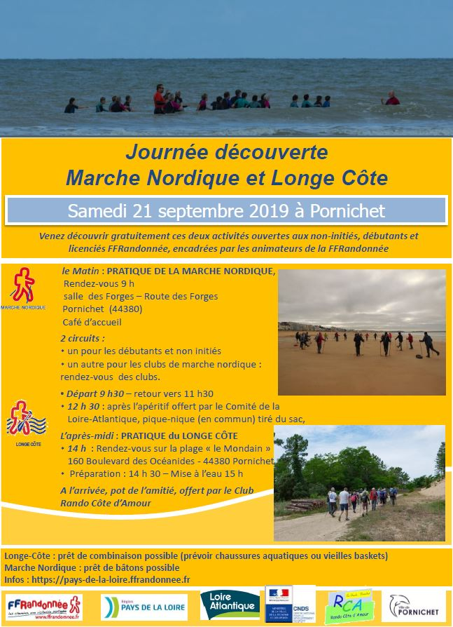 Bulletin d'inscription Rando France Bleu Loire Atlantique 2019