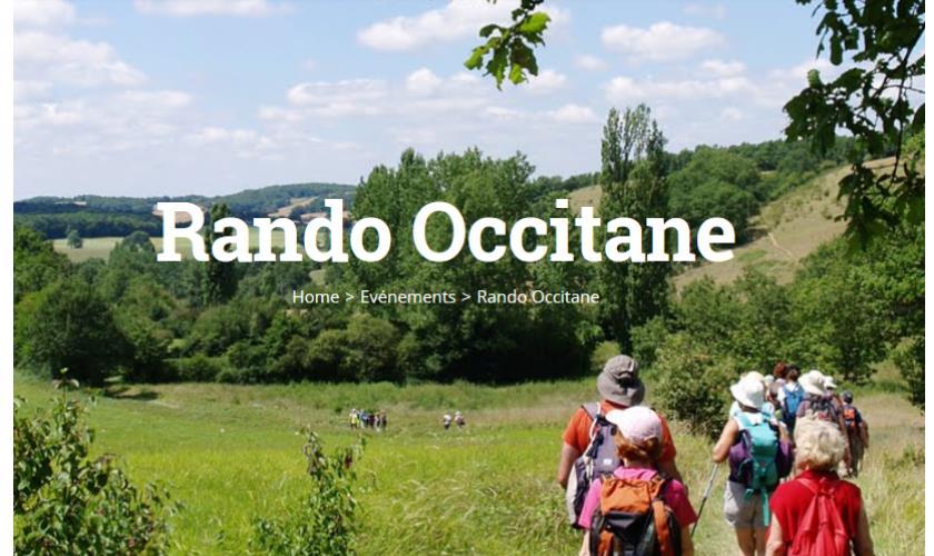 le calendrier des randos occitanes® 2019 est disponible.   Comité