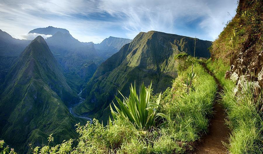 Des sentiers interdits à la Réunion