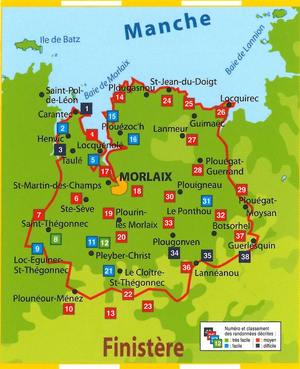 Les sept merveilles de la baie de Morlaix dans le Finistère