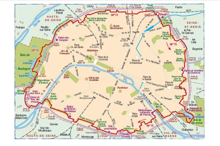 Le nouveau topoguide « Le tour de Paris à pied® » est disponible